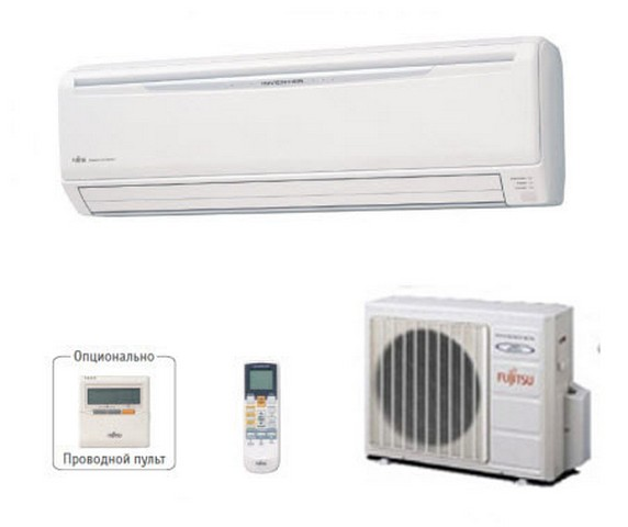 Кондиционеры Fujitsu серии ASYA Practica Inverter: Fujitsu ASYA09LKC/AOYR09LKC, Fujitsu ASYA12LKC/AOYR12LKC